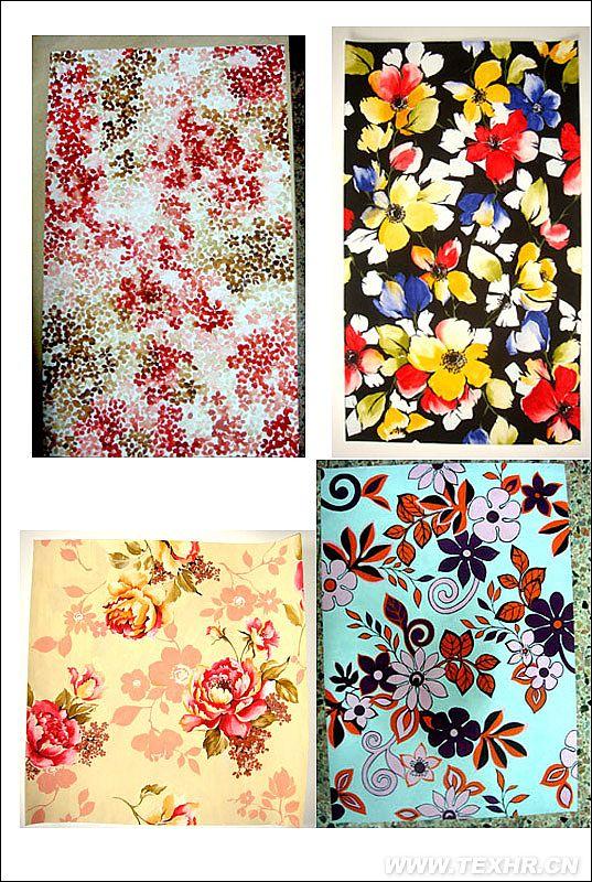 小花设计  和花卉家纺稿的设计