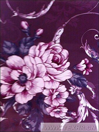 主要为大提花花型设计图片,由于图片保存的原因,有点褪色了