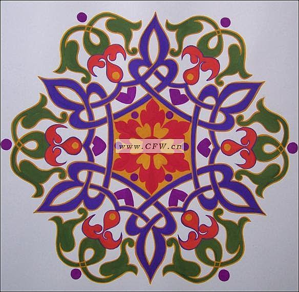 单独纹样 印花图案 设计作品图 纺织作品网 -单独纹样